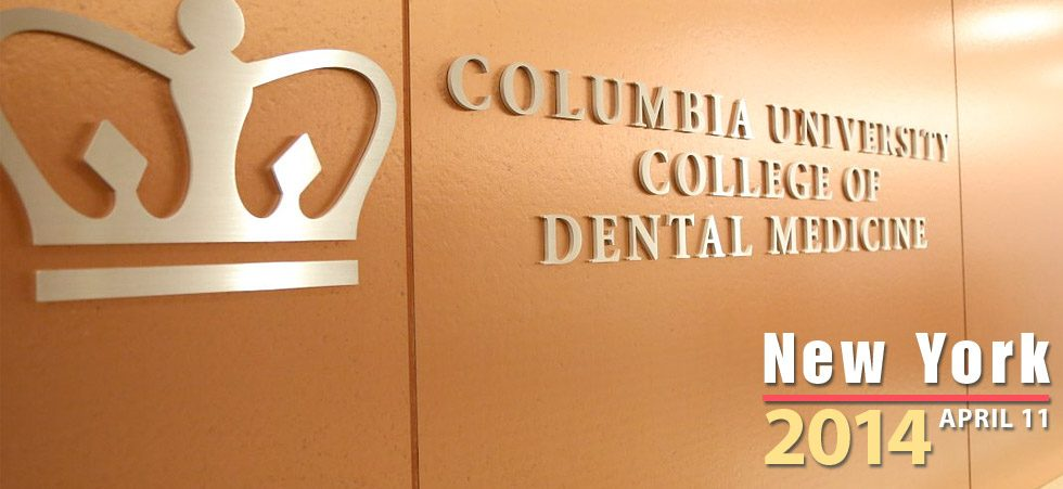 2014 Lectures and Seminars | Columbia University College of Dental Medicine in New York, NY | Dental Digital Photography | Dr. Steven Goldstein | Implant, Restorative & Cosmetic Dentistry | Scottsdale, AZ