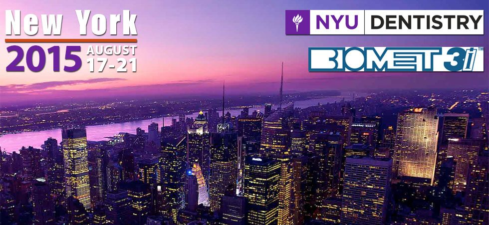 2015 Lectures and Seminars | New York University College of Dentistry Linhart Continuing Dental Education Program Presents the 8th Annual NYU/Biomet 3i Global Forum on Advanced Implant Dentistry in New York, NY | The Details of Implant Dentistry | Dr. Steven Goldstein | Implant, Restorative & Cosmetic Dentistry | Scottsdale, AZ